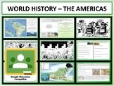 The Americas - Complete Unit - Google Classroom Compatible