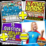 The Americas Complete Vocabulary Mini-Bundle, Activities,