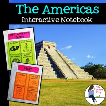 The Americas Interactive Notebook Graphic Organizers