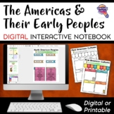 The Americas: Native Americans DIGITAL Interactive Notebook Distance Learning