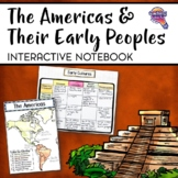 The Americas & Their Early Peoples Interactive Notebook Unit 6th Grade INB Maya