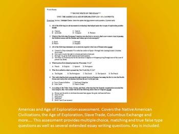 Exploration & Americas Activity *Bundle* (World History)