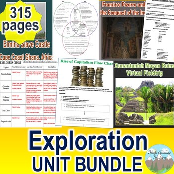 Age of Exploration Unit / Americas & Exploration *Unit Bundle* (World History)