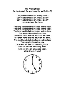 FREE!! - The Analog Clock Song