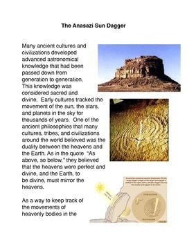 The Anasazi Sun Dagger