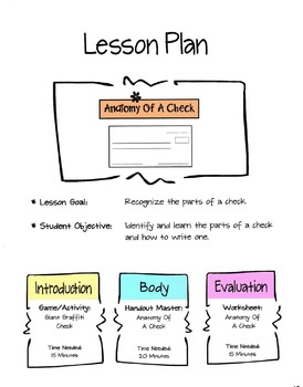 The Anatomy Of A Check Lesson