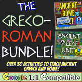 Greco-Roman Bundle: Ancient Greece & Ancient Rome Units! Over 30 Resources!