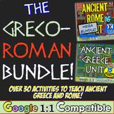 Greco-Roman Bundle | Ancient Greece Ancient Rome | 30+ Resources | Google Drive