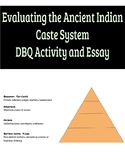 The Ancient Indian Caste System DBQ and Essay (and Socrati