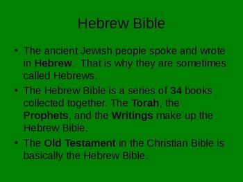 The Ancient Israelites, Ancient Judaism