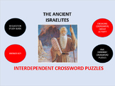 The Ancient Israelites:  Interdependent Crossword Puzzles Activity
