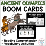 The Ancient Olympic Games BOOM CARDS™ for Distance Learnin