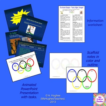 The Ancient Greek Olympics sport lesson