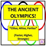 The Ancient Greek Olympics - History of sport lesson