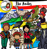 The Andes clip art