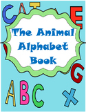 The Animal Alphabet Book (Adapted Book)