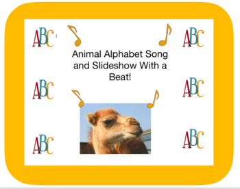 The Animal Alphabet Song and Slideshow With a Beat