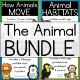 The Animal BUNDLE { movement, body coverings, groups, habitats }