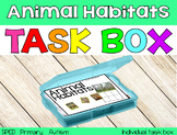 The Animal Habitats Task Box {individual task box}