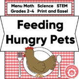 Animal Math And Science: The Kingdom Cafe STEM