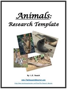 The Animal Research Template