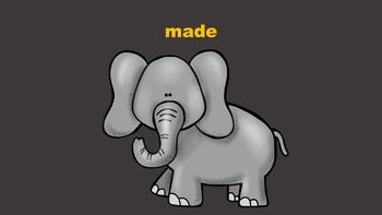 The Animal Sight Words Parade PowerPoint Pack