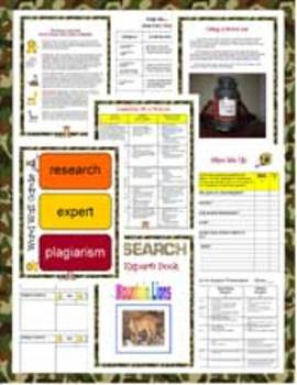 Personalized Research Project-Plagiarism, Grit, oral presentation for Grades 2-4