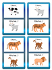 The Animals I have/ Who has? Card Game- ESL Animals Vocabulary
