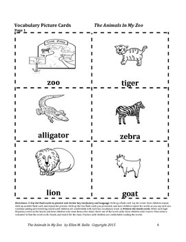 The Animals In My Zoo Are Free & the Preposition/Concept - Through