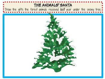 The Animals' Santa by Jan Brett:  A Complete Literature Study!