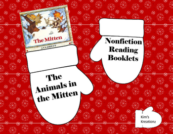The Animals in the Mitten: Nonfiction Reading Booklets