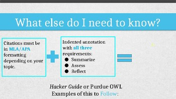 The Annotated Bibliography How To PPT