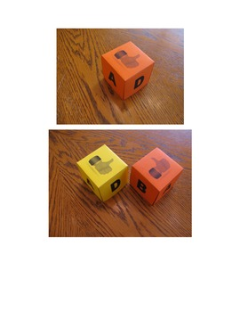 The Answer Cube - A Printable Hands-On Formative Assessment Tool