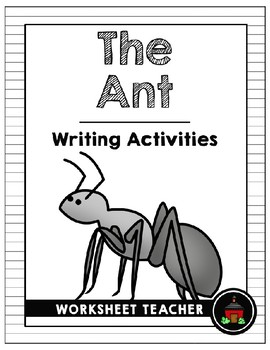 The Ant Writing Activities