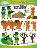 The Ant and The Grasshopper Famous Fables Clipart {Zip-A-Dee-Doo-Dah Designs}