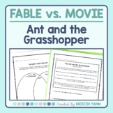 The Ant and the Grasshopper (Aesop) vs. A Bug's Life - Fable Comprehension