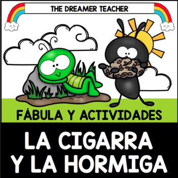 La Cigarra Y La Hormiga Fábula Y Actividades