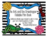 """""""The Ant and the Grasshopper"""" Foldable Mini Book"""