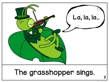 The Ant and the Grasshopper Reader ~Simplified for Young Learners