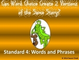 The Ant and the Grasshopper_Analysis of Standard 4 Words a