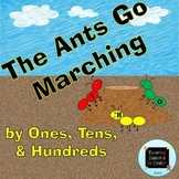 The Ants Go Marching: by Ones, Tens, and Hundreds {A Place Value Game}