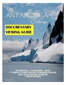 Global Warming Documentary Worksheet (The Antarctica Challenge) Climate Change