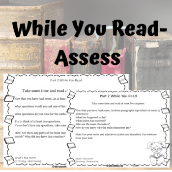 Book Projects with Rubrics Blooms Taxonomy Before, During, after reading