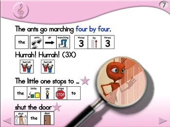 The Ants Go Marching - Animated Step-by-Step Song - PCS