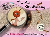 The Ants Go Marching - Animated Step-by-Step Song - Regular