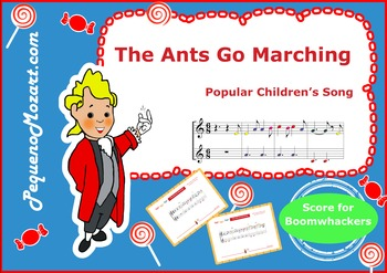 The Ants Go Marching for Boomwhackers