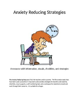 The Anxiety Reducing Resource File