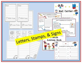 The Anytime POST OFFICE Writing FUN!