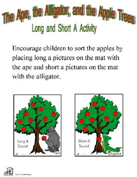 The Ape, the Alligator, and the Apple Trees