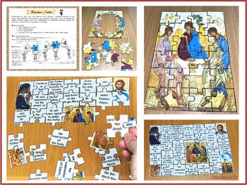 The Apostles' Creed Activities Jigsaw Puzzles